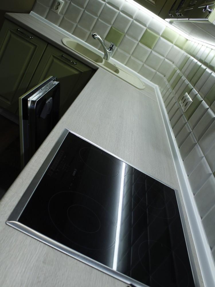Классические кухни-Кухня МДФ в ПВХ «Модель 91»-фото7