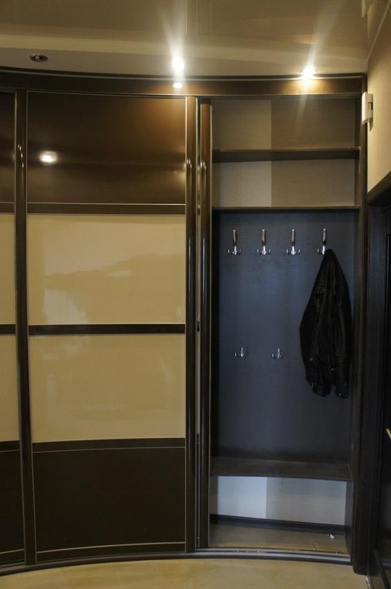 Бельевой шкаф-купе-Шкаф-купе из пластика «Модель 323»-фото5