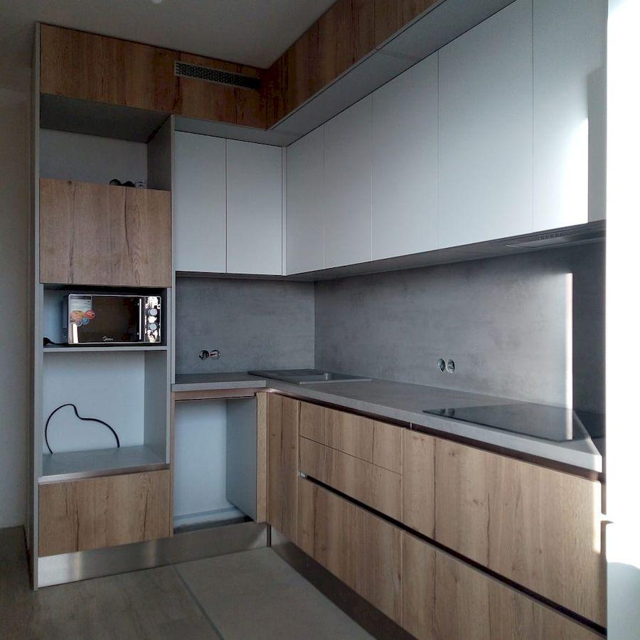 Белый кухонный гарнитур-Кухня из ЛДСП «Модель 651»-фото4