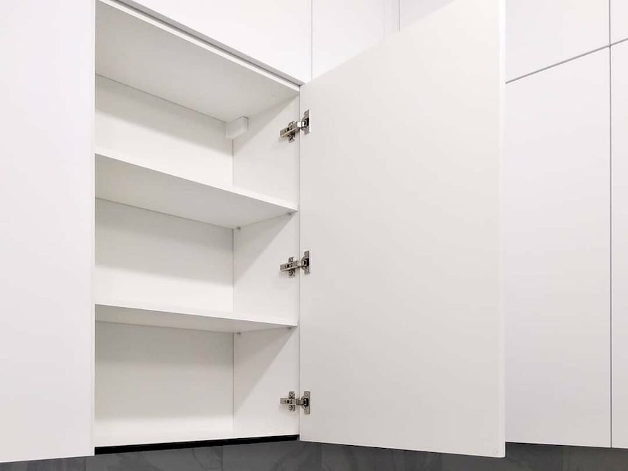 Белый кухонный гарнитур-Кухня МДФ в ПВХ «Модель 639»-фото4