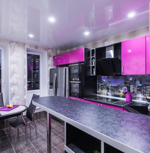 -Кухня МДФ в эмали «Модель 115»-фото14
