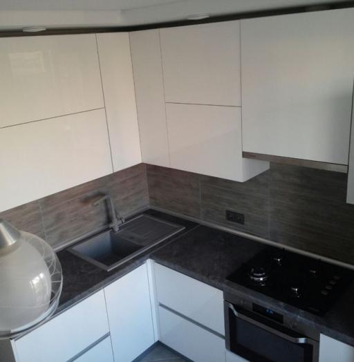 -Кухня из пластика «Модель 361»-фото30
