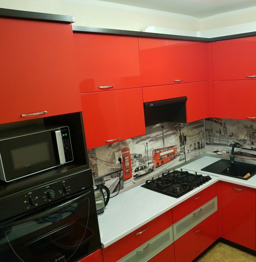 -Кухня из пластика «Модель 138»-фото24