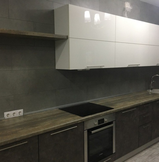 -Кухня МДФ в эмали «Модель 159»-фото16