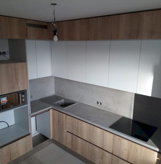 Белый кухонный гарнитур-Кухня из ЛДСП «Модель 651»-фото5